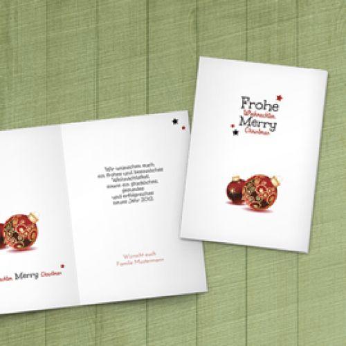 Weihnachtskarten selbst gestalten weihnachtskarten druck - Weihnachtskarten selber gestalten online ...