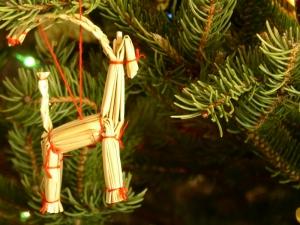 Julbock - Weihnachtstraditon in Schweden