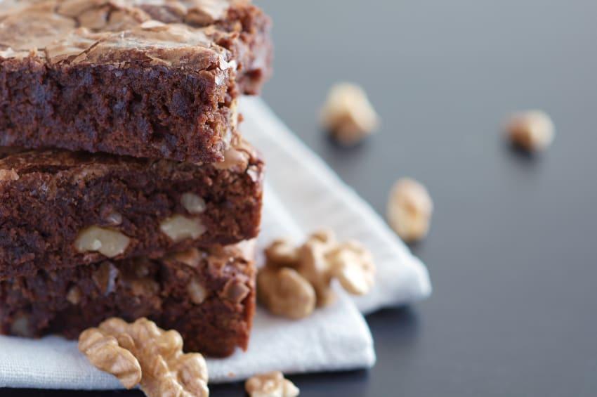 Rezept für Walnuss Brownies