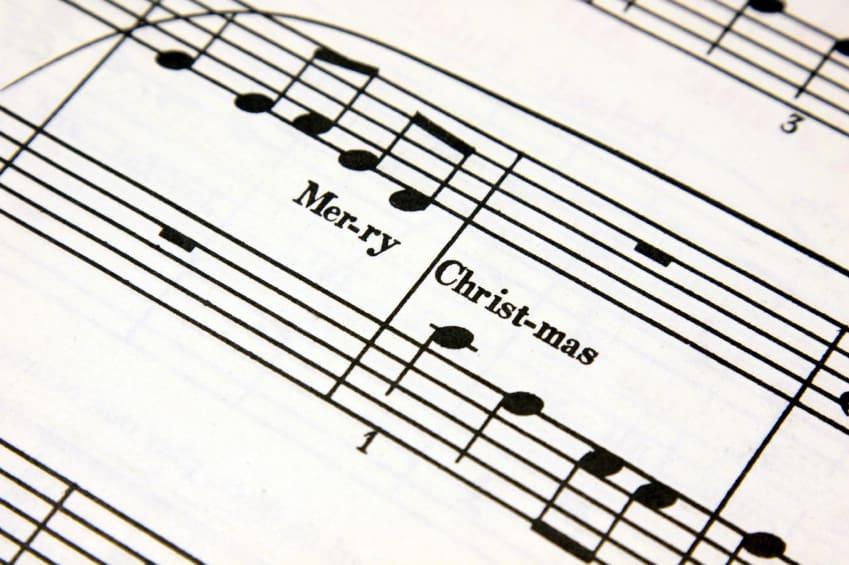 Noten zum Weihnachtslied