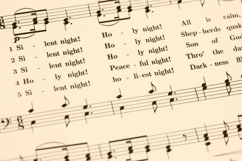 Der Klassiker: Stille Nacht, heilige Nacht