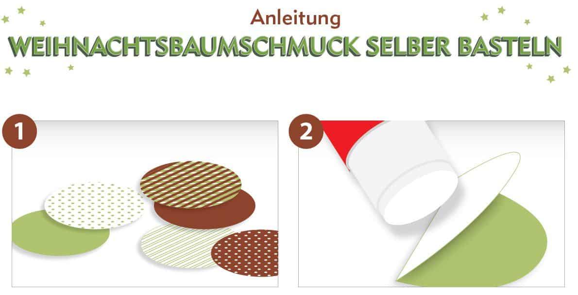 baumschmuck selber basteln weihnachtskarten. Black Bedroom Furniture Sets. Home Design Ideas