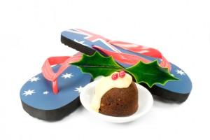 Flip Flops mit australischer Flagge