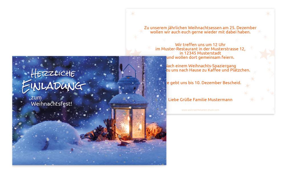 weihnachtseinladungen online weihnachtskarten druck. Black Bedroom Furniture Sets. Home Design Ideas