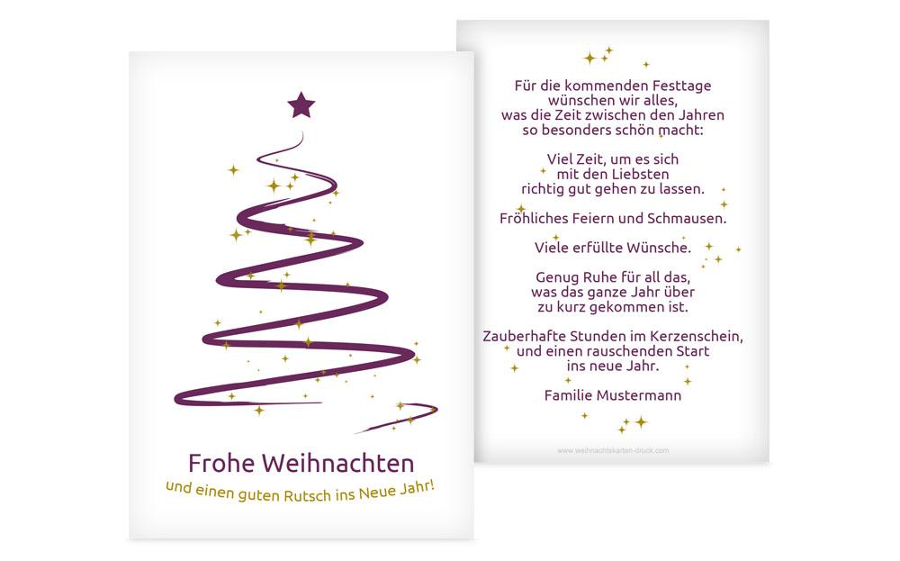 Weihnachtsgrüße Mitarbeiter Persönlich.Weihnachtsgrüße Online Gestalten Weihnachtskarten Druck