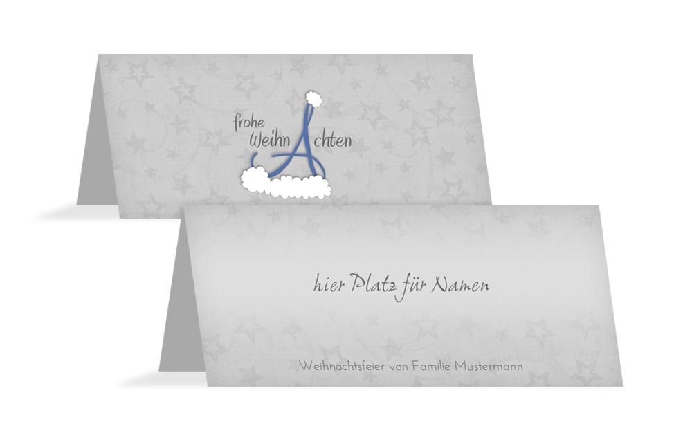 tischkarten f r weihnachten online gestalten und bestellen. Black Bedroom Furniture Sets. Home Design Ideas