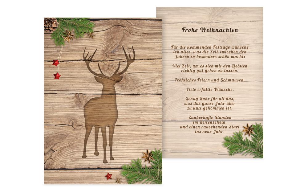 Weihnachtsgrüße Klassisch.Klassische Weihnachtsgrüße Weihnachtskarten Druck